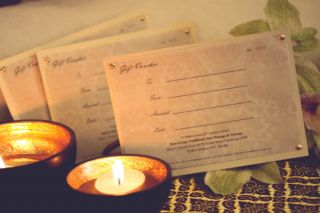 Massage gift vouchers are available in store or can be purchased online